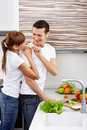 Fun At Kitchen Royalty Free Stock Image - 13798256