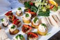 Canapes & Fruit Royalty Free Stock Images - 13799799