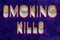 Smoking Kills Stock Photo - 1381120