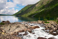 Rough River And Lake. Royalty Free Stock Photo - 1382105