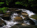Campbell Creek Falls, Camp Creek State Park, West Virginia Royalty Free Stock Photography - 1385367