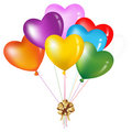 Bunch Of Colorful Heart Shape. Vector Royalty Free Stock Images - 13802359