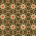 Vintage Wallpaper - Stars Stock Image - 13824331