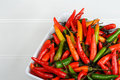 Hot Chili Peppers Royalty Free Stock Images - 13826209