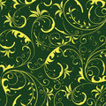 Seamless Yellow Flower Pattern Stock Images - 13827064