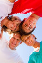 Family Heads Together Royalty Free Stock Photos - 13827528