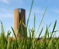 Silo In Background, Blurred Royalty Free Stock Photos - 13841348