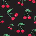 Background With Cherry Stock Photos - 13852623