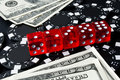 Gambling Dices For Casinò Games Stock Image - 13881401