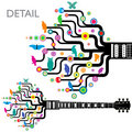 Abstract Guitar Stock Photo - 13889650