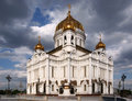 The Cathedral Of Christ The Saviour In Moscow Royalty Free Stock Photos - 13898918