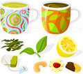 Tea Set 02 Stock Images - 13905804