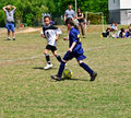 Young Girls Soccer Stock Image - 13907621