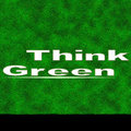 Think Of Green Poster Royalty Free Stock Photos - 13909608