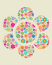 Grunge Floral Background - 4 Royalty Free Stock Photos - 13910328
