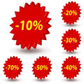 Sale Stickers Stock Photo - 13923790