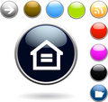 Glossy Buttons Set Stock Images - 13933224