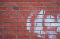 Wall Of Red Brick Royalty Free Stock Images - 13934379