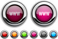 WWW Button. Royalty Free Stock Photo - 13956035