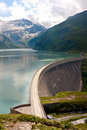 Concrete Dam Wall Of Kaprun Power Plant Stock Images - 13961574