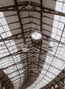 Architecture Roof Ceiling Brighton Train Station Royalty Free Stock Photos - 13961718