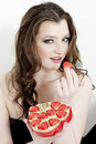 Woman With Chocolate Stock Photo - 13968770