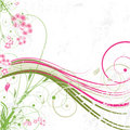 Abstract Floral Background Royalty Free Stock Photos - 13999248