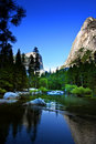 Mirror Lake, Yosemite National Park Stock Photo - 1405210