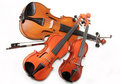 Three Violins Stock Photography - 1409232