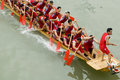 Dragon Boat Races Are Held In China Royalty Free Stock Image - 14007196