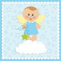 Baby Greetings Card Stock Images - 14017134