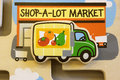 Toy Shop A Lot Puzzle Royalty Free Stock Image - 14039586