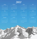 2011 Calendar Royalty Free Stock Image - 14050806