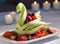 Decorative Fruit Display Royalty Free Stock Images - 14061909