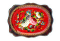 Russian Traditional Tray Isolated Royalty Free Stock Photos - 14072808