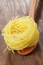 Pasta Nest Royalty Free Stock Photo - 14074055