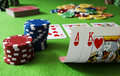 Ace King And Royal Flush Stock Photography - 14075852