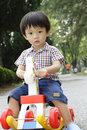 Asian Boy Playing Royalty Free Stock Photography - 14086697