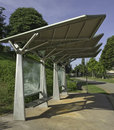Structural Steel Bus Stop Stock Images - 14088974