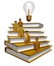 Scholar Leader Icon Symbol Stock Images - 14089274