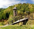 Ancient Wooden Fortification Royalty Free Stock Photos - 14092468