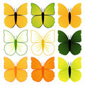 Set Of Butterflies Stock Images - 14096294