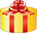 Gold Gift Box Stock Images - 14100014