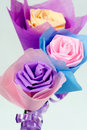 Origami Of Flowers Royalty Free Stock Photos - 14101608