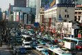 Busy Traffic In Shanghai Stock Images - 14101744