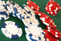 Casino Chips Royalty Free Stock Photography - 14105957