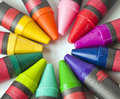 Crayons In Multicolors Royalty Free Stock Photos - 14108598
