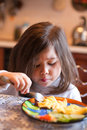 Eating Girl Royalty Free Stock Photography - 14126537