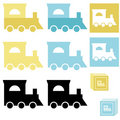 BabyTrainToy Royalty Free Stock Photography - 14129637