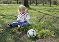 A Child On A Walk Stock Image - 14138101